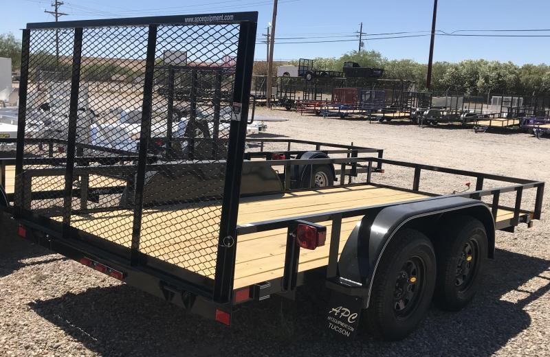 2018 East Texas 77x12 T/A Utility Trailer