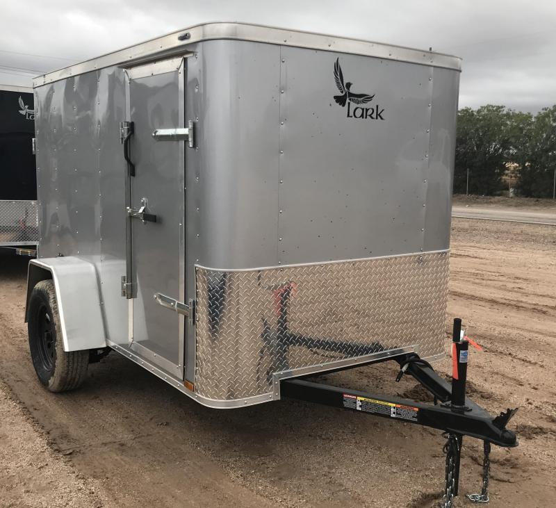 2019 Lark 5x8 VT Enclosed Cargo Trailer