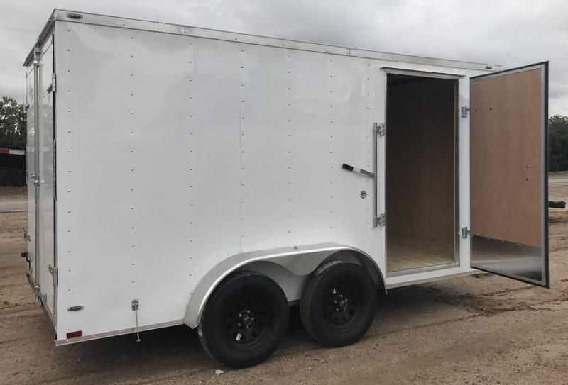2019 Lark 7x14 VT Enclosed Cargo Trailer