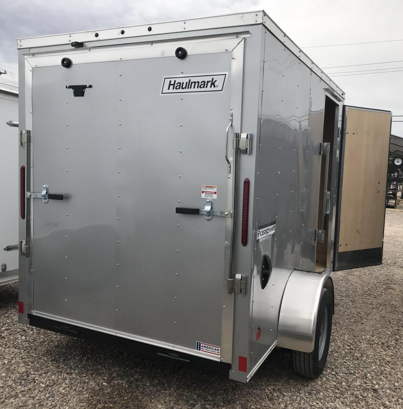 2019 Haulmark PP 6x10 S/A Enclosed Cargo Trailer