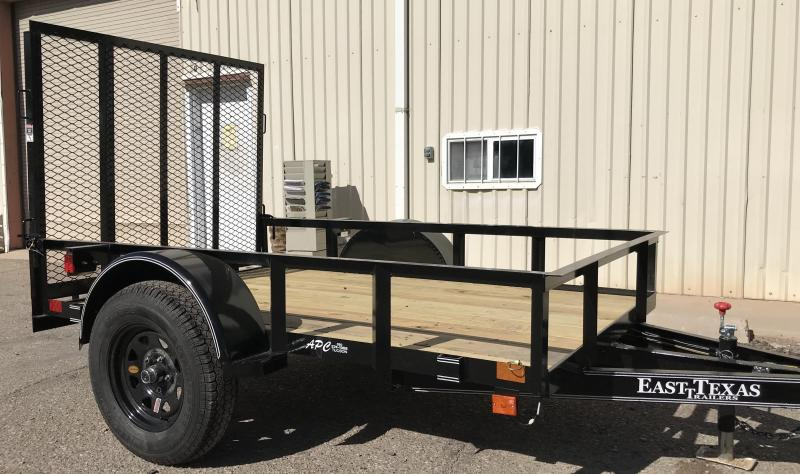 2018 East Texas 5x8 S/A Utility Trailer