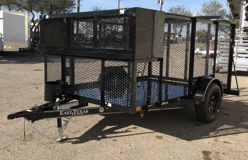 2018 East Texas 77x10 S/A Landscape Utility Trailer