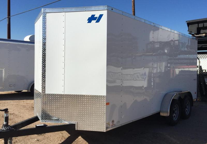 2017 Haulmark 7x16 Thrifty Enclosed Cargo Trailer