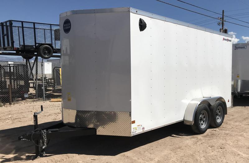 2019 Wells Cargo 7x14 FT Enclosed Cargo Trailer