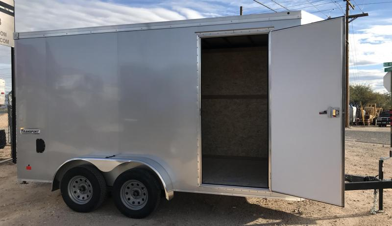 2019 Haulmark TSV UTV Transport 7x14 Enclosed Cargo Trailer