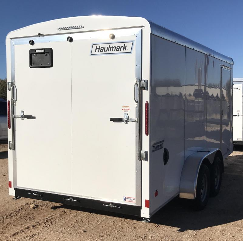 2019 Haulmark TS Transport 7x16 UTV Package Enclosed Cargo Trailer