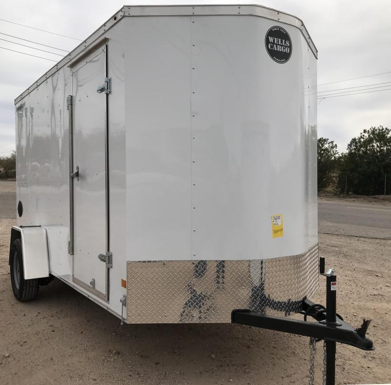 2019 Wells Cargo FT 6x12 S/A Enclosed Cargo Trailer