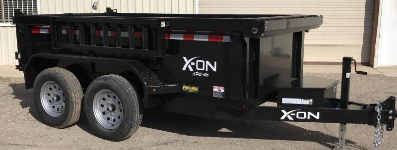 2019 X-On 5x10 7k 2ft Side Dump Trailer