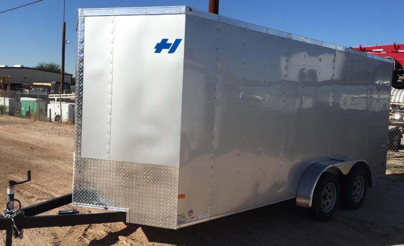 2017 Haulmark 7x14 Thrifty Enclosed Cargo Trailer