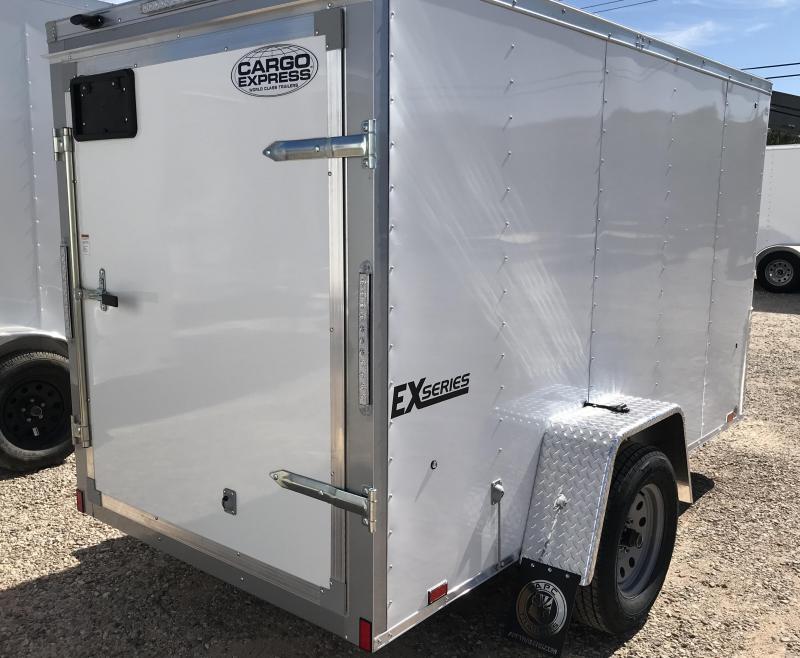 2019 Cargo Express 5X10 EX Enclosed Cargo Trailer