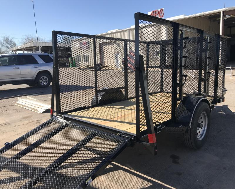 2019 X-On 5x10 Landscape S/A Utility Trailer