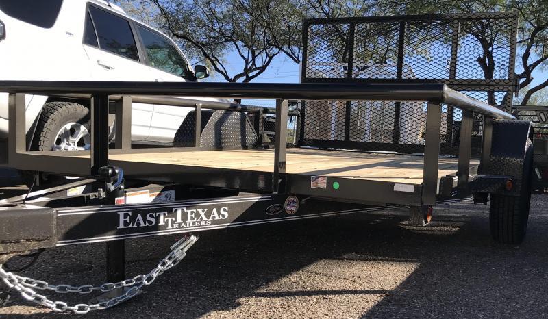 2018 East Texas 77x10 S/A Premium Utility Trailer