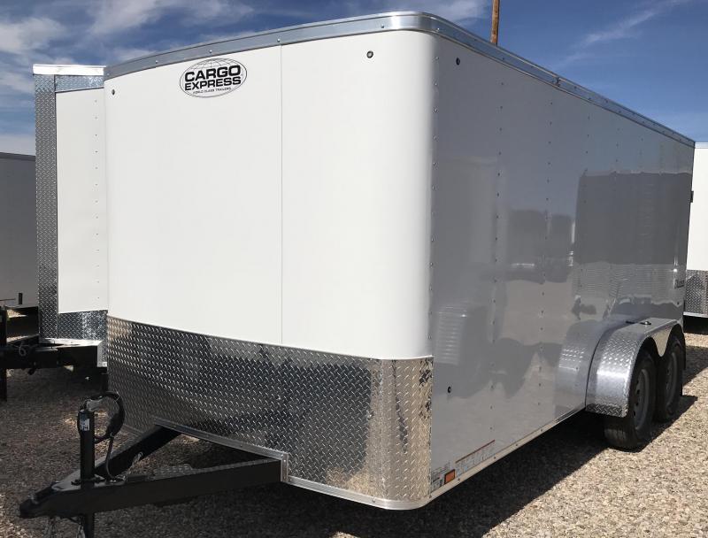 2019 Cargo Express 7x16 T/A EX Enclosed Cargo Trailer