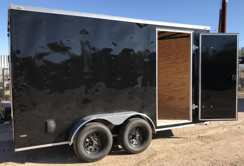 2019 Lark 7x14 Enclosed Cargo Trailer