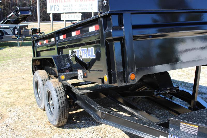 Load Trail 6'X12' 10K Tandem Axle Dump Trailer