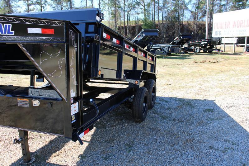 "Load Trail 83""X16' 14K Gooseneck Dump Trailer"