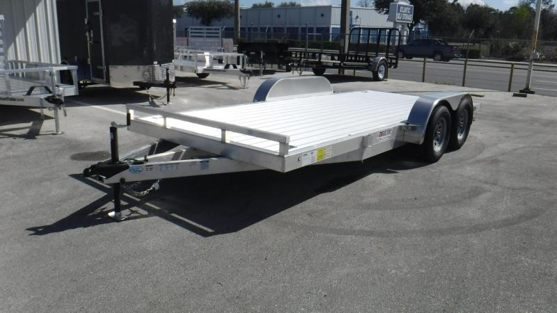 2018 16' Aluminum Car Hauler Car by Ligting Trailers