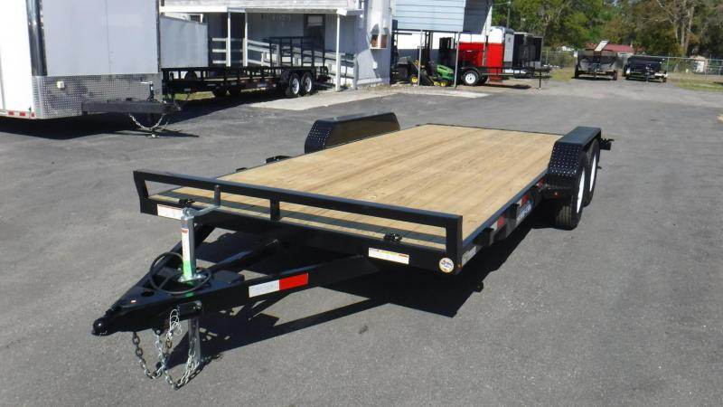 2018 Sure-Trac ST8218CHW-B-070 Equipment Trailer