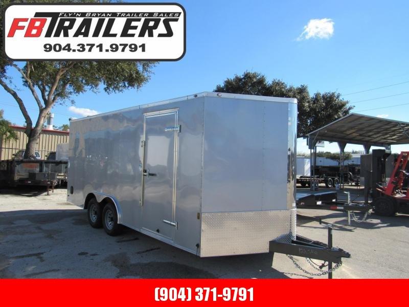2019 Continental Cargo 8.5x18 5200lb Axles Enclosed Cargo Trailer