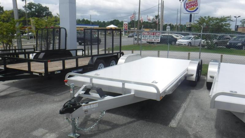 2019 20' ALL ALUMINUM OPEN CAR HAULER by ATC