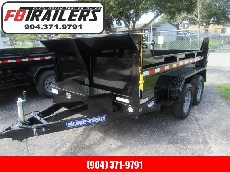 2020 Sure-Trac 6X10 Dump Trailer