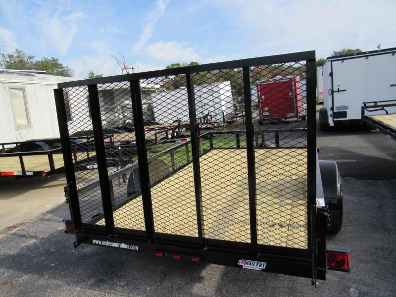 2020 Anderson Manufacturing 6X12 Utility Trailer