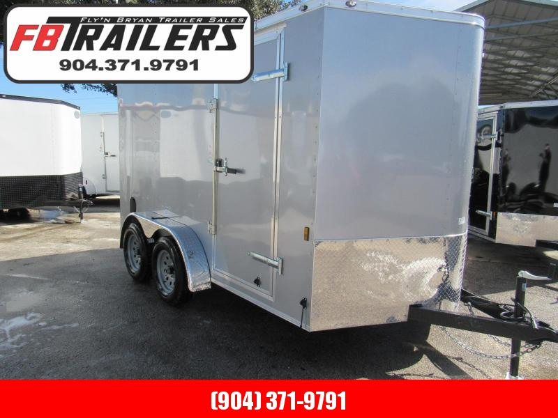 2019 Continental Cargo 7X12 Ramp Door Enclosed Cargo Trailer