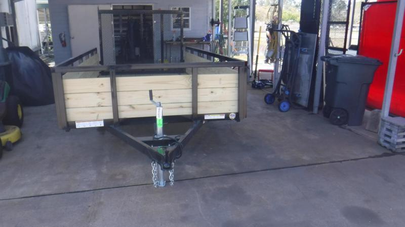 2018 Sure-Trac ST7212HST-B-030 Utility Trailer