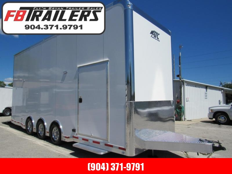 2019 ATC 26' All Aluminum Stacker Car / Racing Trailer