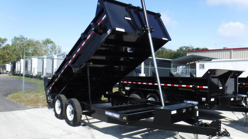 "2018 83""x14 Telescopic Dump Trailer by Sure Trac"