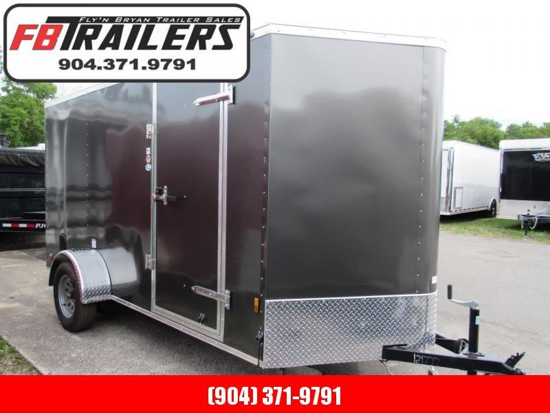 2020 Continental Cargo 6X12 Ramp Door Enclosed Cargo Trailer