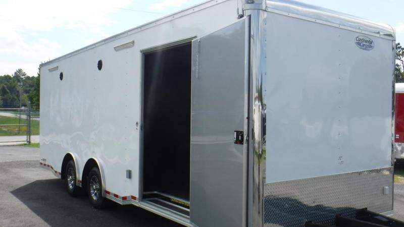 2018 8.5x24  RT Plus Car / Race Trailer by Continental Cargo