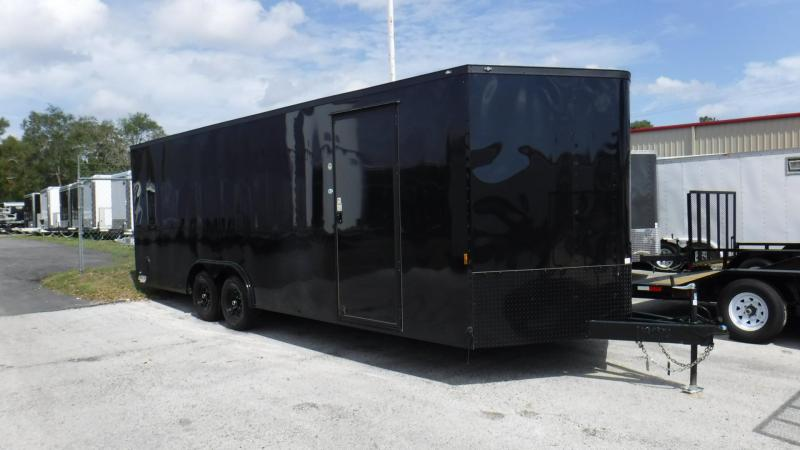 2018 24' Black Out Package Racing Trailer by Continental Cargo
