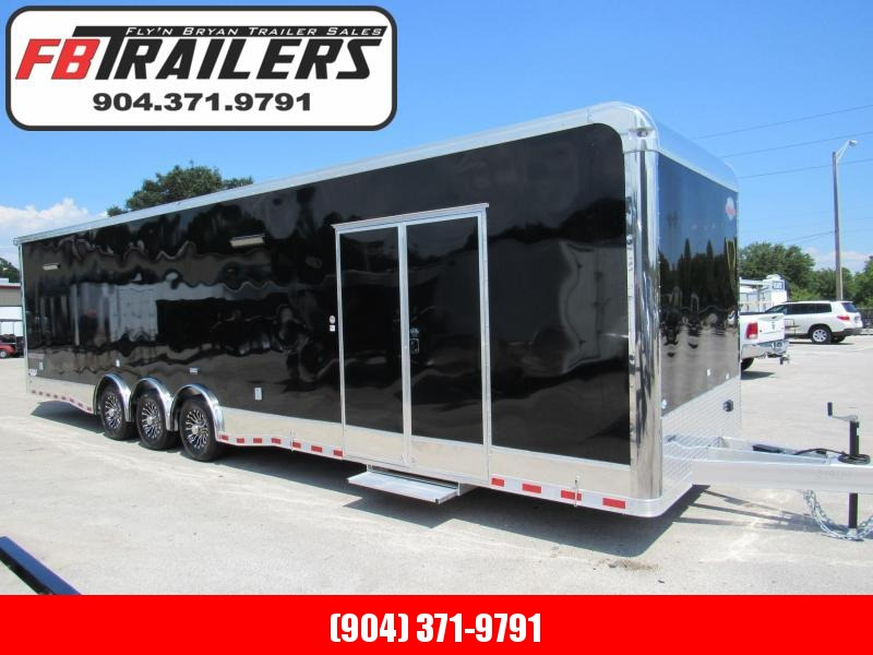 2020 Cargo Mate 34ft Aluminum Frame Car / Racing Trailer