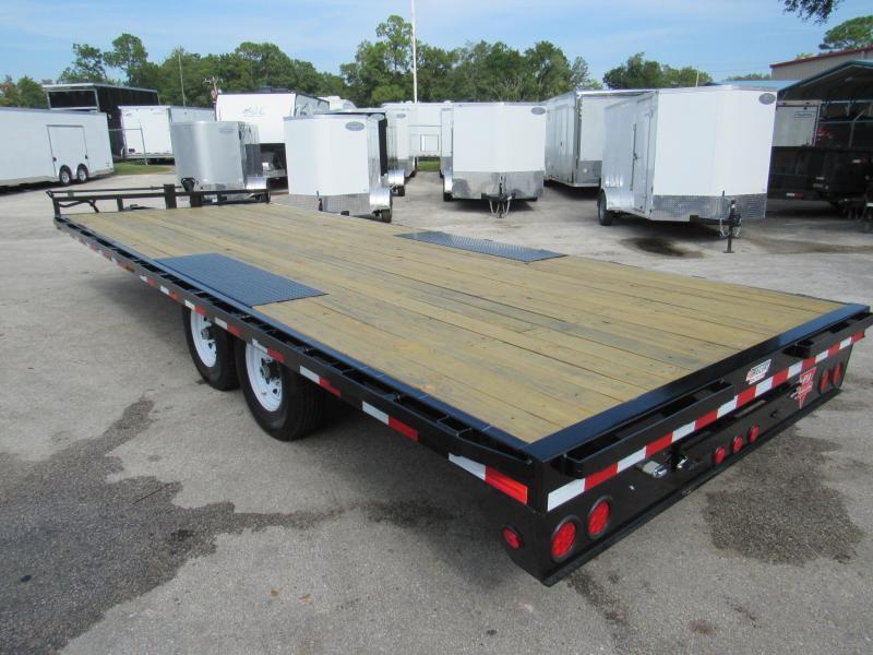 2020 PJ Trailers 22 ft Deckover Equipment Trailer