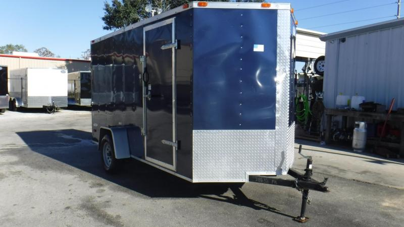 2014  USED 6x12 Enclosed Cargo Trailer by Freedom