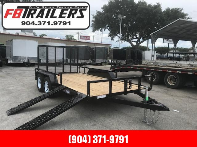 2020 Sure-Trac 7X16 ATV Side Load Utility Trailer