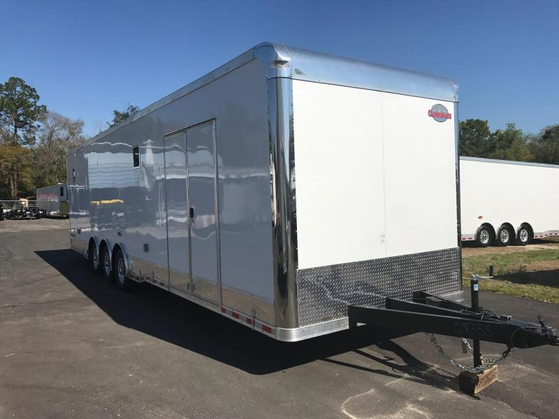 2018 34' Cargo Mate Eliminator Race Traier