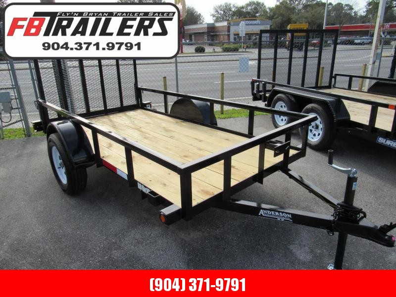 2019 Anderson Manufacturing 5X10 Utility Trailer