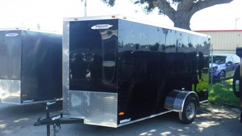 2019 6x12 Enclosed Cargo Trailer