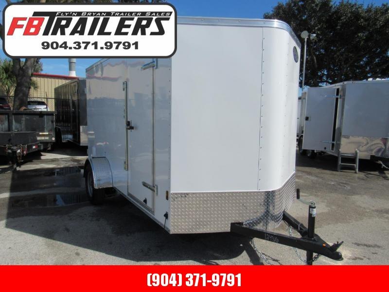 2019 Continental Cargo 6X12 Double Doors Enclosed Cargo Trailer