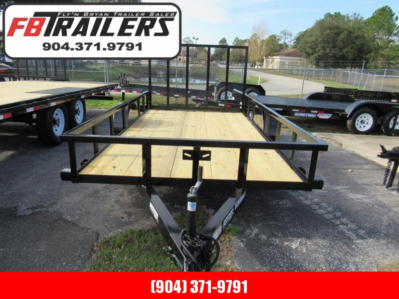 2019 Anderson Manufacturing 7X12 Utility Trailer