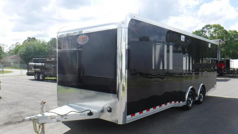 2019 24' Aluminum  Spread Axle Race Trailer by Sundowner Trailers