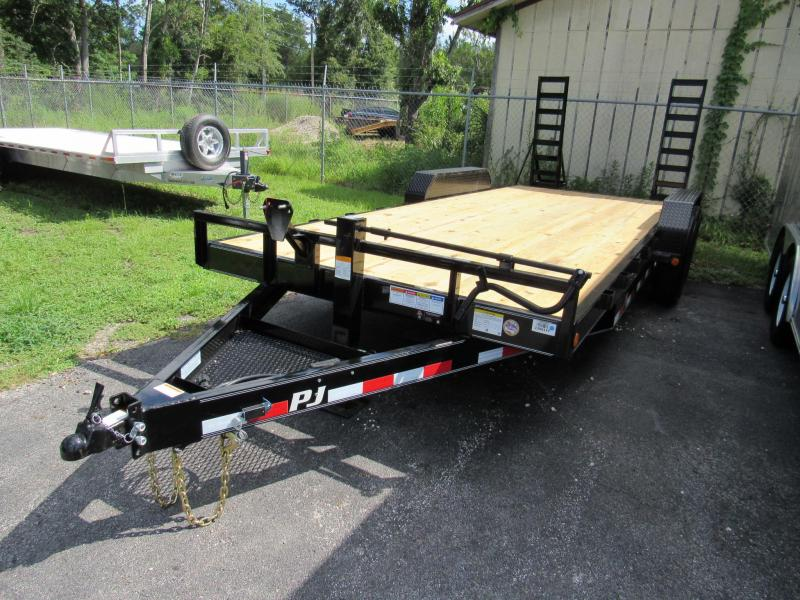 "2019 20' CC6 6"" Channel Equipment Trailer"