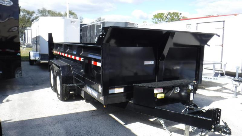 2018 82x14 Heavy Duty Dump Trailer by Sure Trac