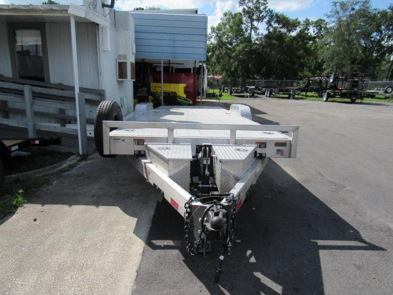 2015 H&H ALL ALUMINUM  24 HYDRAULIC TILT