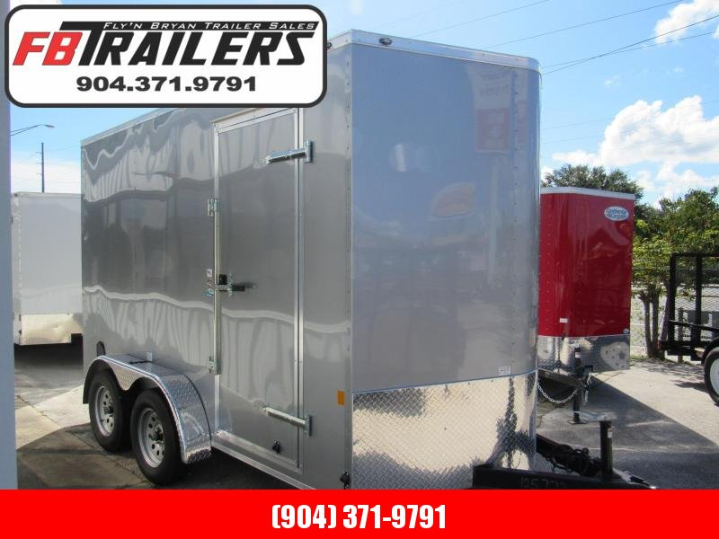2020 Continental Cargo 7X12 12 Inches Additional Height Enclosed Cargo Trailer