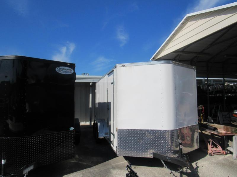 2019 Continental Cargo 7x16 Cargo Doors Enclosed Cargo Trailer