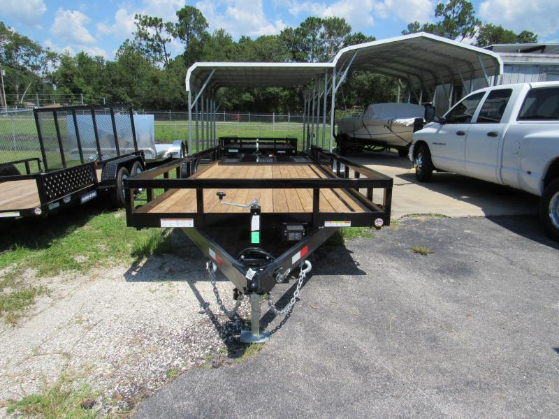 2019 Sure-Trac HD Equipment/Utility Utility Trailer