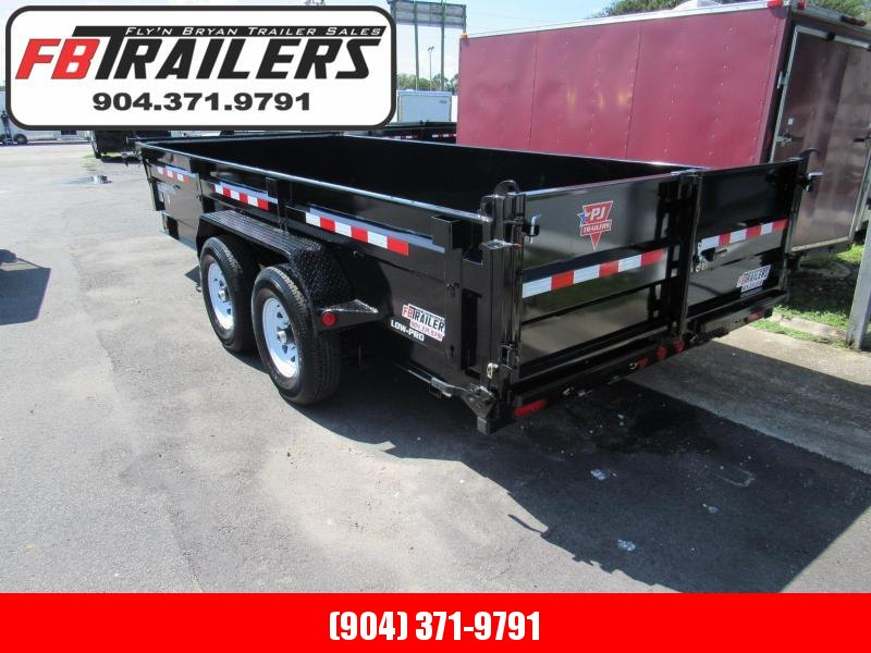 2020 7x16 Low Side Dump Trailer by PJ Trailers